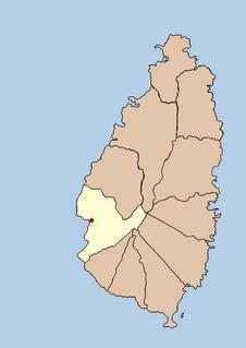 Town in Soufrière Quarter, Saint Lucia