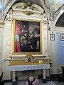 Santa maria degli angiolini, interno, altare laterale matteo rosselli 02.JPG