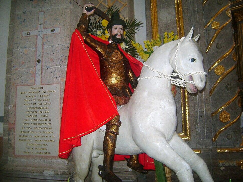 Santiago Apostol patrono de Tequixquiac