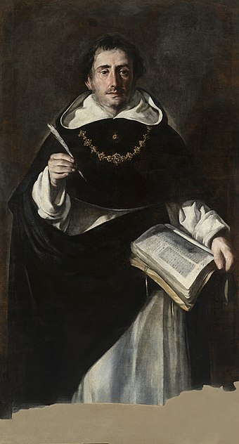 Portrait of St. Thomas by Antonio del Castillo y Saavedra, ca. 1649