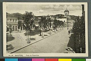 Santos, Praça da Republica