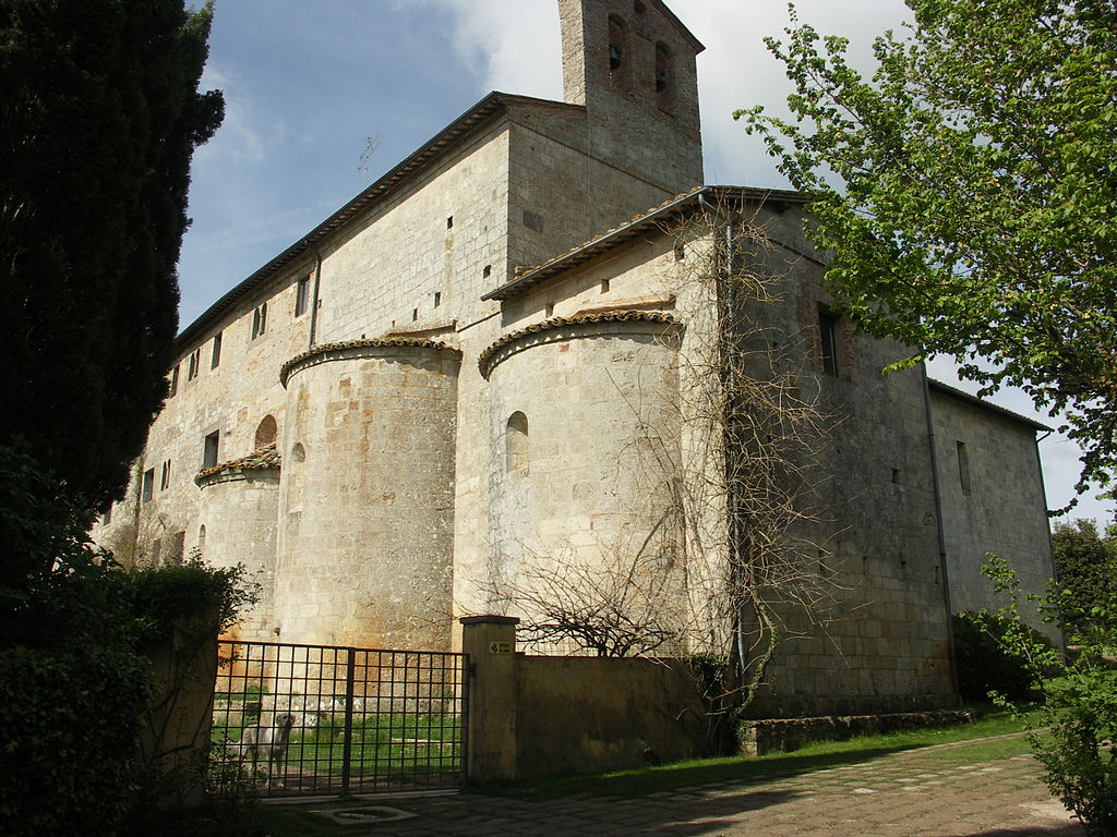Sarteano, abbazia di Spineta