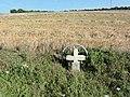 Saudrupt (Meuse) Paysage avec croix de chemin.jpg