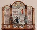 Saulges - Église Notre-Dame - Plaque commémorative.jpg