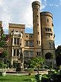 Schloss Babelsberg - Westlicher Schlossflügel mit Rundturm - panoramio.jpg