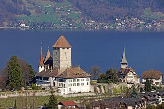 Spiez - Spiez Church and Castle