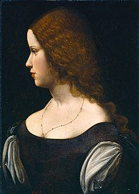 School of Leonardo da Vinci woman profile.jpg