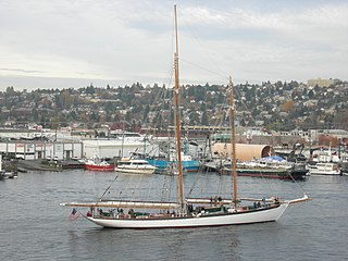 <i>Zodiac</i> (schooner) two-masted schooner