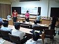 Science Career Ladder Workshop - Indo-US Exchange Programme - Science City - Kolkata 2008-09-17 01416.JPG
