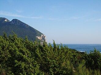 Parco Nazionale del Circeo - Image: Scorcio circeo