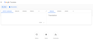 Google Translate Multilingual neural machine translation service