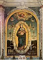 Scuola lucana, immacolata concezione con gli attributi mariani, xvii secolo, 01.jpg