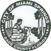 Official seal of Miami Springs, Florida