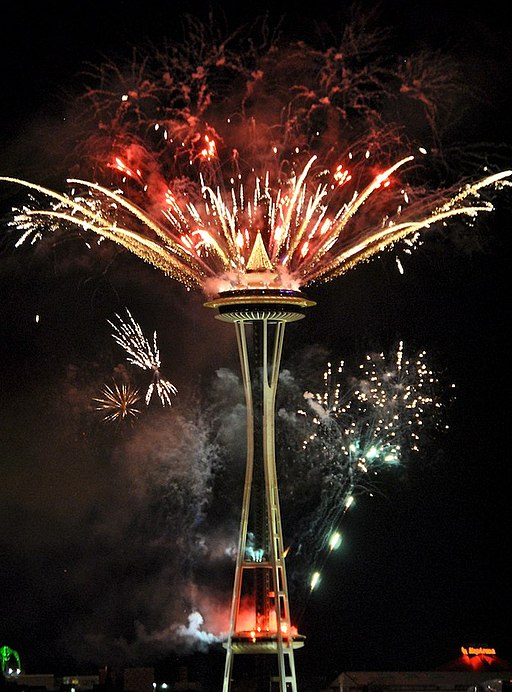 Seattle New Years Eve Fireworks 2011 (8)