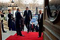 Secretary Kerry Greets French Foreign Minister Jean-Marc Ayrault After Arriving at the Quai d'Orsay in Paris (31511088946).jpg