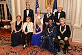 Secretary Kerry Poses for a Photo With the 2015 Kennedy Center Honors Recipients in Washington (23586744486).jpg