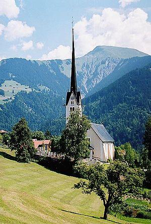 Seewis im Prättigau - Church in Seewis