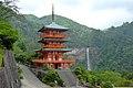 Seiganto-ji, Sanju-no-to (Three-storied Pagoda) -1 (June 2014) - panoramio.jpg