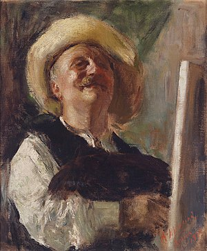Antonio Mancini - Self-portrait, 1910