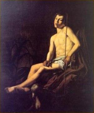 Carlo Sellitto - St. John the Baptist, 1601. 150×125 cm. Private collection.