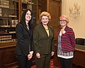 Senator Stabenow meets with representatives of the Michigan State University Extension (32927087070).jpg