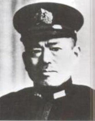 Sentarō Ōmori - Admiral Sentarō Ōmori