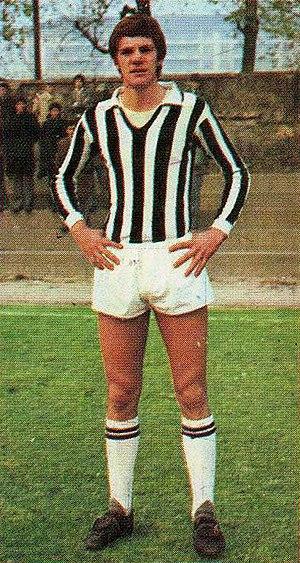 Sergio Brio - Brio with Juventus in 1974