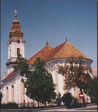 Romanian Catholic Eparchy of Oradea Mare - The Cathedral of Saint Nicholas in Oradea