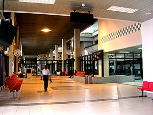 Shah Amanat International Airport - Departure area