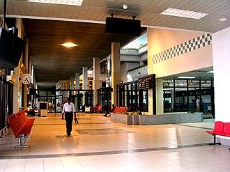 Shah Amanat International Airport - Departure area