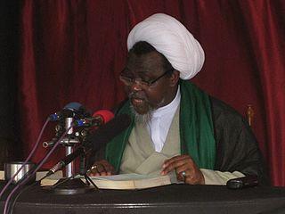 Ibrahim Zakzaky Nigerian Islamic cleric