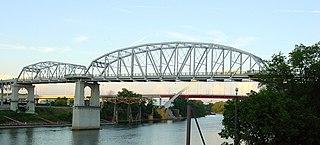 John Seigenthaler Pedestrian Bridge Pedestrian bridge in Nashville, Tennessee