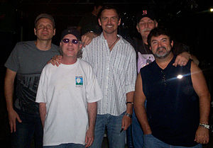 Shenandoah (band) - Shenandoah in July 2008. L-R: Mike Folsom, Stan Munsey, Jimmy Yeary, Jim Seales, Mike McGuire.