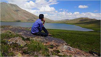 Deosai National Park - Sheosar Lake is in the western part of Deosai National Park.