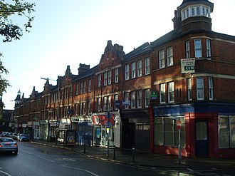 Beckenham - Victorian commercial buildings along Beckenham Road