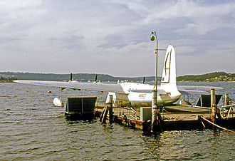 Short Sandringham - Ansett Sandringham at Rose Bay Sydney in 1970