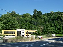 Siège de l'usine Opinel à Chambéry