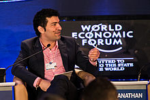 Siddhartha Lal, Managing Director and Chief Executive Officer, Eicher Motors, India, at the World Economic Forum on India 2012.jpg