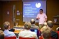 Siebrand Mazeland sprak over technische ontwikkelingen in software voor Wikimedia bij de Wikimedia Nederland Conferentie 2013 (10643176733).jpg