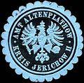 Siegelmarke Amt Altenplathow - Kreis Jerichow II W0237912.jpg
