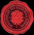 Siegelmarke Gemeindeamt der Stadt Horn - Nieder-Oesterreich W0261496.jpg