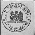 Siegelmarke Kaiserlich Königliche Zensurstelle - Tetschen W0233530.jpg