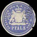 Siegelmarke Praesidium der K. Bayer. Regierung der Pfalz W0385388.jpg