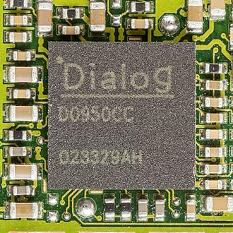 Dialog Semiconductor - Dialog integraced circuit D0950CC, used in Siemens S55