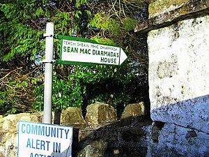 Kiltyclogher - Seán Mac Diarmada's house