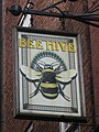 Sign for The Bee Hive Hotel, High Bridge Cloth Market, NE1 (geograph 1888268).jpg