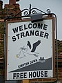 Sign for the Welcome Stranger - geograph.org.uk - 919727.jpg