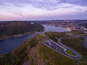 Cabot Tower (St. John's) - Signal Hill and Cabot Tower, St. John's, Newfoundland, Canada