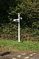 Signpost nr Sowdens Bridge - geograph.org.uk - 1538155.jpg
