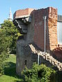 Simontornya Castle. Listed 8725. NW tower remain. - Hungary.JPG